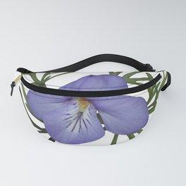 Viola Pedata, Birds-foot Violet #society6 #spring Fanny Pack