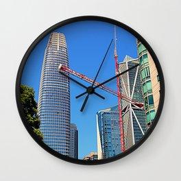 Big Building Boom Wall Clock