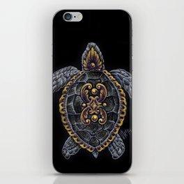 Ornamental Turtle iPhone Skin