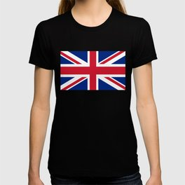 UK FLAG - The Union Jack Authentic color and 3:5 scale  T-shirt