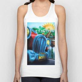 Mickey's Jalopy Unisex Tank Top