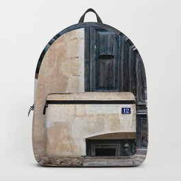 Old fashioned door Backpack