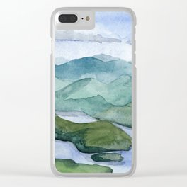 Lake Placid Clear iPhone Case
