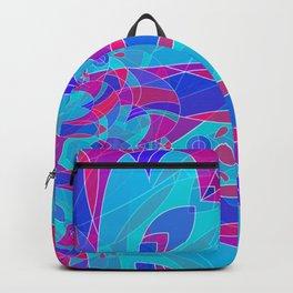 Textura mandala love glojag Backpack