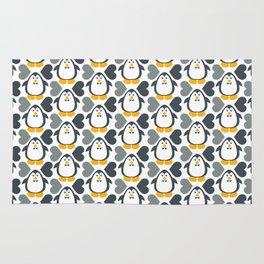 NGWINI - penguin love pattern 4 Rug
