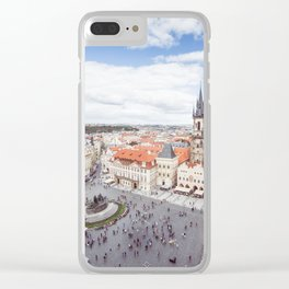 Old Town Square in Prague Clear iPhone Case
