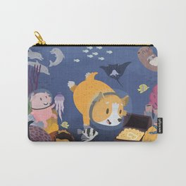 Diving For Treasure! Carry-All Pouch