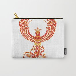 Mythical Phoenix Bird Carry-All Pouch