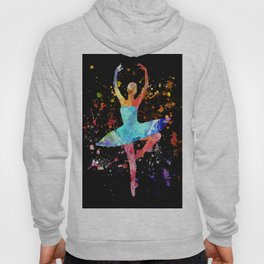 Ballerina Blacky Black Hoody