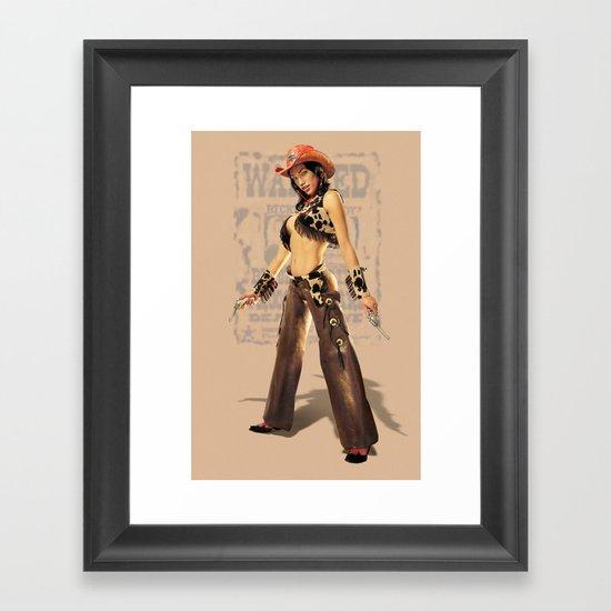 Becky Framed Art Print