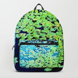 Golden Water Lily Backpack