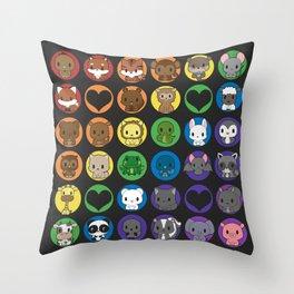 Collective Nouns 02 Throw Pillow