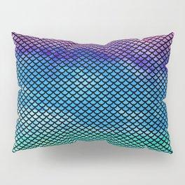 Rainbow Mermaid Tail Pillow Sham