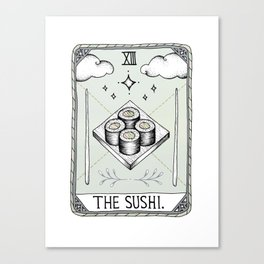 The Sushi Canvas Print