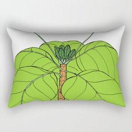 Fish-Plate Shrub - Guettarda speciosa Rectangular Pillow