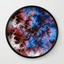 Celestials - Crumbling Reality Wall Clock