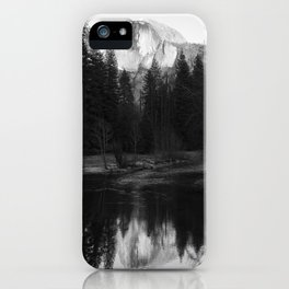 Half Dome and Reflection iPhone Case