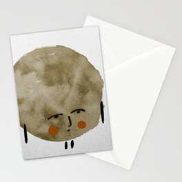 Comtemplative blob Stationery Cards