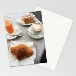 The Perfect Roman Breakfast Stationery Cards