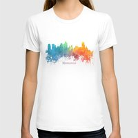 minneapolis T-shirts featuring Skyline Minneapolis colored by jbjart