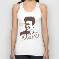 james franco Tank Tops featuring Magic Franco by One Giant Eye