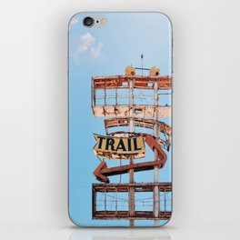 Vintage Neon Sign - The Spanish Trail -  Tucson iPhone Skin