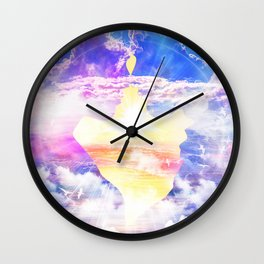 Artistic - XXII - Love and Happiness Wall Clock