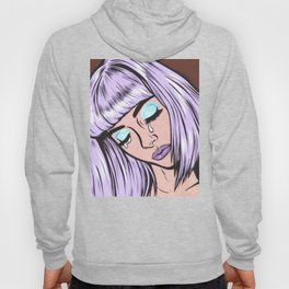 Lilac Bangs Crying Girl Hoody