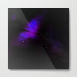 Space the final frontier?. Metal Print