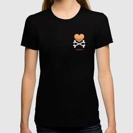 bone up on love pattern T-shirt