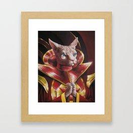 Ming the Fur-ciless Framed Art Print