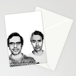 Jemaine and Taika 3 Stationery Cards