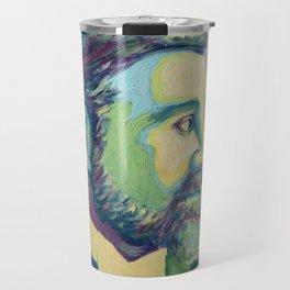 Coloured Roger by Machale O'Neill Travel Mug