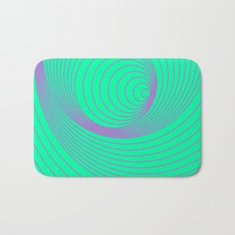 Repeating Circles Bath Mat