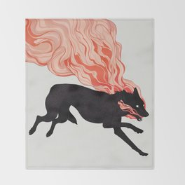 Cinders Throw Blanket