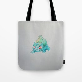 Pocket Monster Watercolor Tote Bag