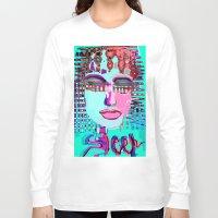 sleep Long Sleeve T-shirts featuring sleep by sladja