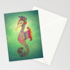 Seahorse Lady Stationery Cards