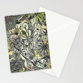 Floral Enchantment Stationery Cards