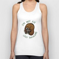 platypus Tank Tops featuring The platypus problem by Simplasticity