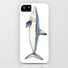 Mako shark (Isurus oxyrinchus) iPhone Case