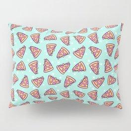Pizza Magic // Green Pillow Sham