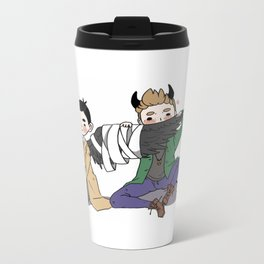Holy Hell Destiel - SPN Travel Mug