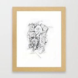Egg of Life Framed Art Print