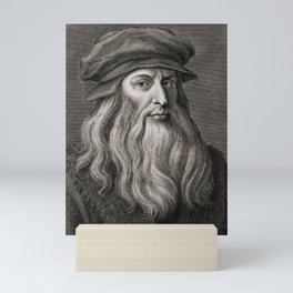 Leonardo da Vinci Mini Art Print