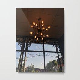 Ceiling Lights Metal Print