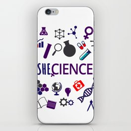 Shecience iPhone Skin