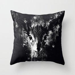 small dik-dik antelope portrait wsdbw Throw Pillow