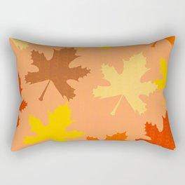 Fall Leaves 2 Rectangular Pillow
