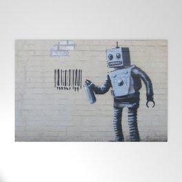 Banksy Robot (Coney Island, NYC) Welcome Mat